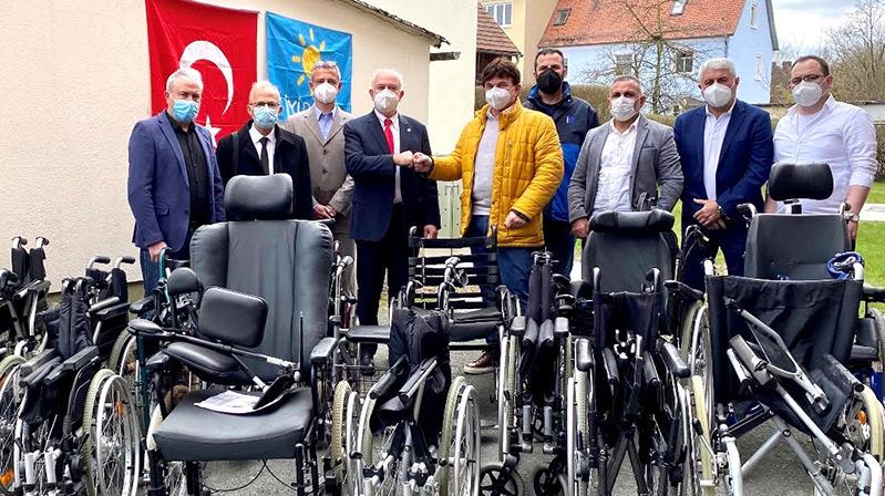 Nürnberg İyi Toplum Gönüllüleri Derneği'nden Kıbrıs'a yardım