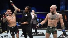 UFC'de kazanan Dustin Poirier