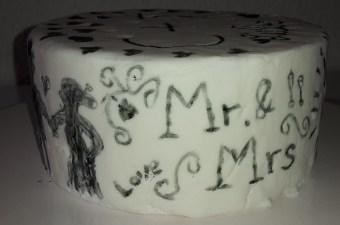 Cake Dummy Hochzeitstorte