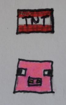 Minecraft-Küchlein