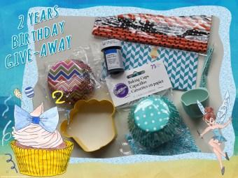 GIVE-AWAY zum 2. Blog-Geburtstag