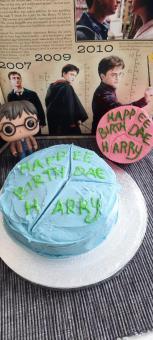 Harry Potter Geburtstagskuchen | Nerd Day