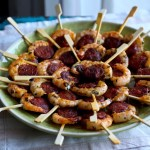 Party Fingerfood - Chorizo Garnelen Spieße