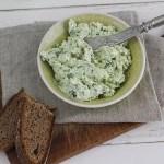 Bärlauch Frischkäse Rezept mit Feta und Walnüssen