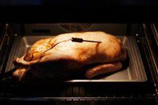 Weihnachten - Gefüllte Ente aus dem Backofen