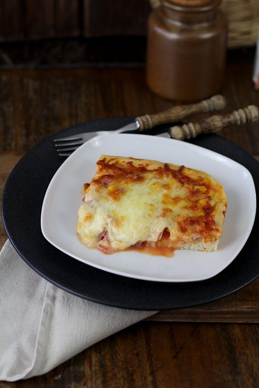 Fluffiger Pizzateig Rezept Mit Pizzamehl Typ 00 Gebacken Die