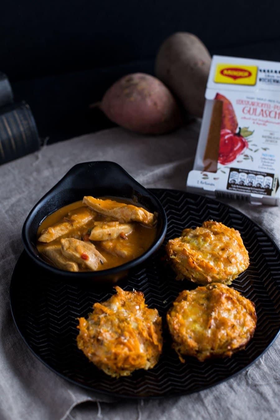 Herzhafte Susskartoffel Rosti Muffins Rezept Vom Blech Die Kuche Brennt