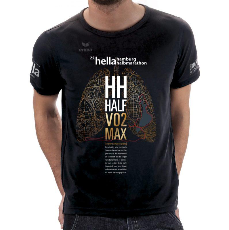 hella hamburg halbmarathon 2019 Teilnehmershirt