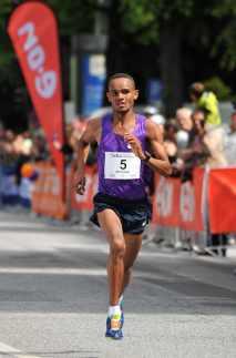 21 06 2015, 21.Hella Halbmarathon Hamburg, , Herren #5 Sieger Merhawi Kesete
