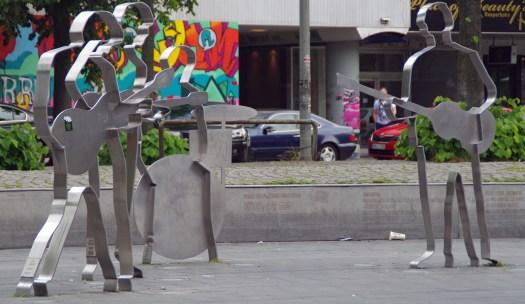 Der Beatles-Platz.