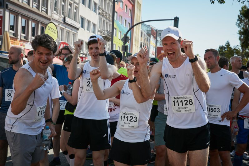 25. Hella Halbmarathon in Hamburg am 30.06.2019