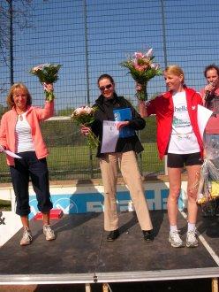 Siegerehrung 10km Damen