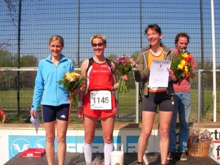 Siegerehrung 20km Frauen 2