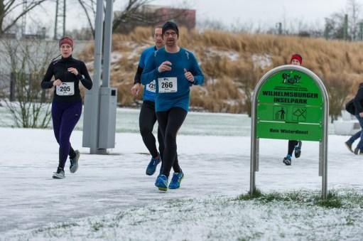 Wilhelmsburger Winterlaufserie - 1. Lauf am 15.01.2017