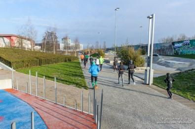 Winterlaufserie Wilhelmsburg 2019, 2. Lauf 5