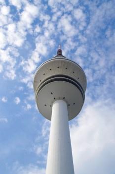 Der Fernsehturm.