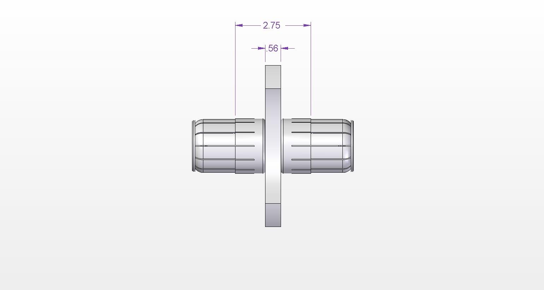 7 3 16 Connector Anchor Insulator