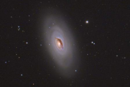 M64 – the Blackeye Galaxy