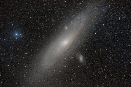 M31, die Andromeda Galaxie
