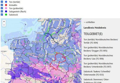 Endlager-Suche in Niedersachsen / Bremen