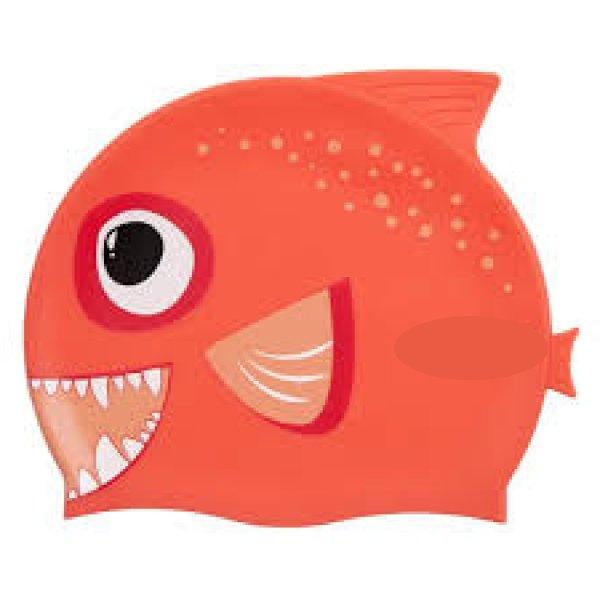 Badehaube-Fisch-orange-clean