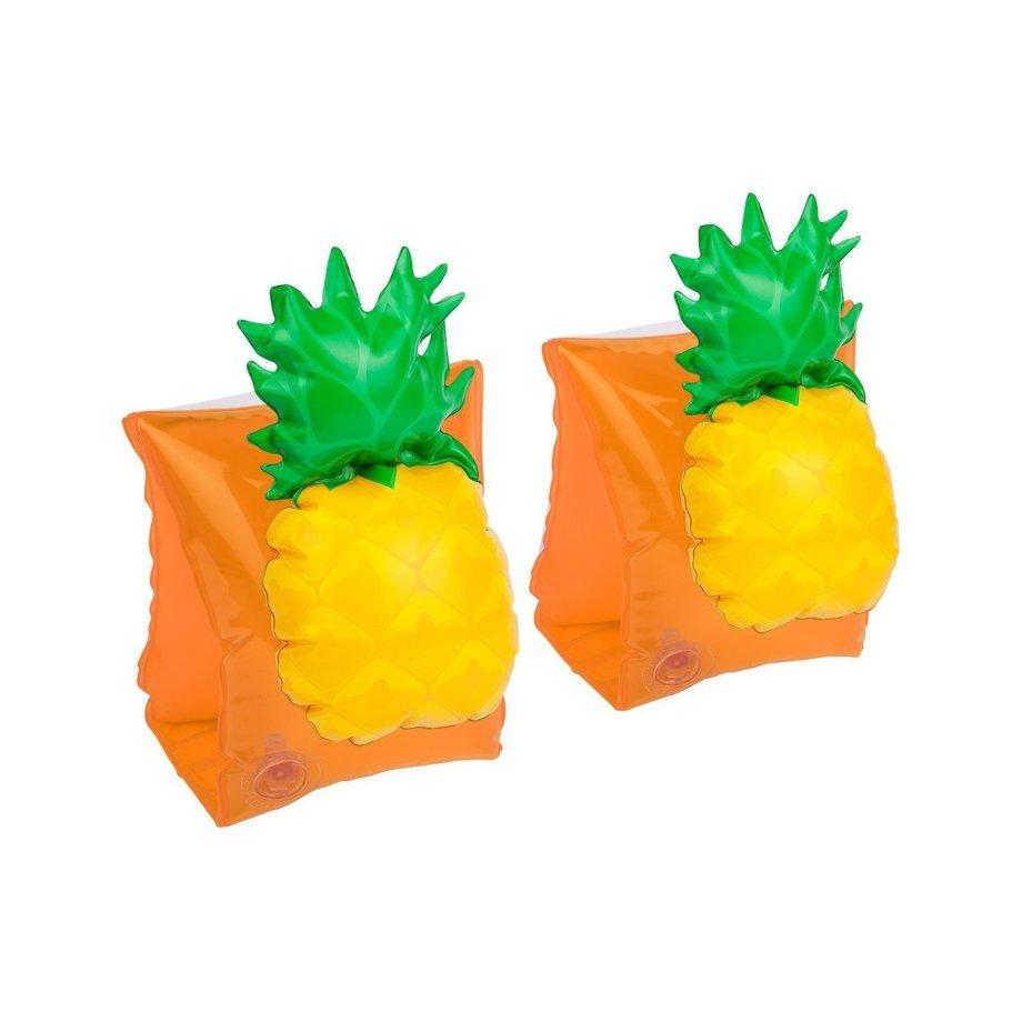 Schwimmfluegel in Ananas Form Seitenansicht. Die Macherei