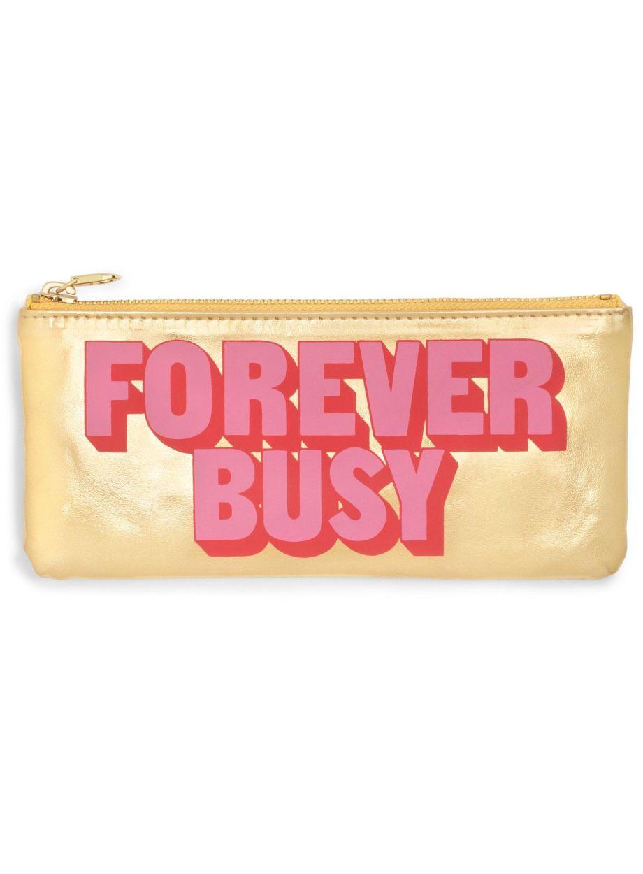I am very busy Federpenal Gold Die Macherei