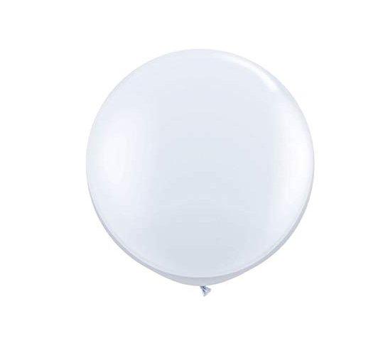 Riesen Luftballon weiß 100cm. Die Macherei