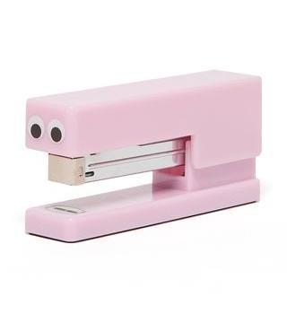 Klammermaschine rosa mit Augen Die Macherei