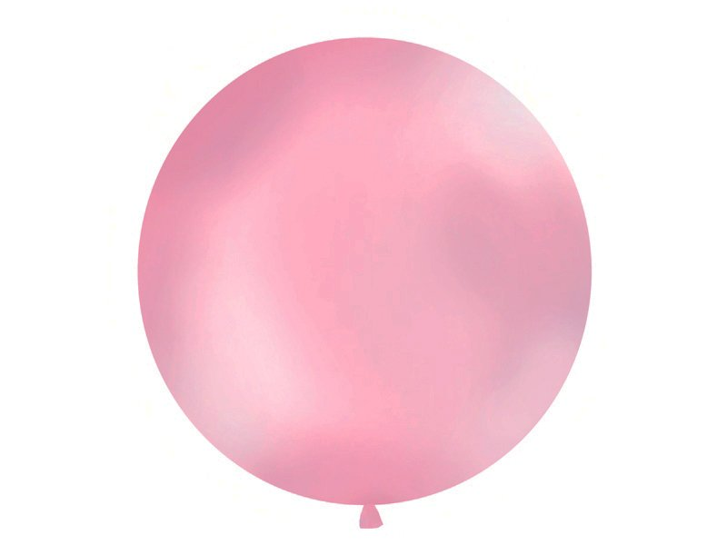 Luftballon Metallic Rosa 100 cm. Die Macherei