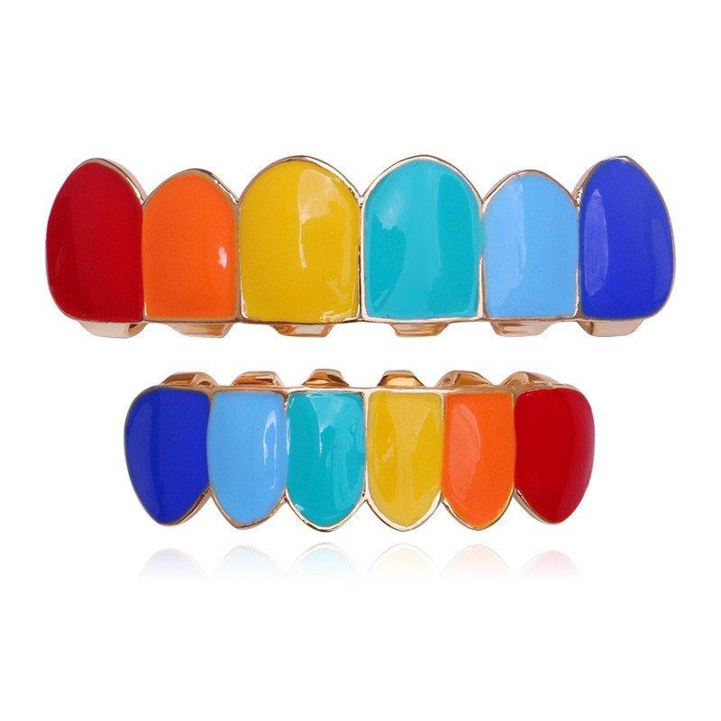 Rainbow Grillz Set. Die Macherei