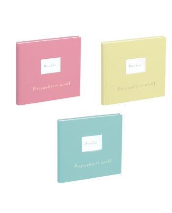 Leinenbuch personalisierbar Candy Colors Die Macherei