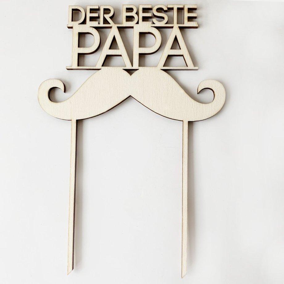 "Caketopper ""Der beste Papa"""