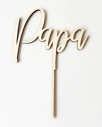 MINI - Caketopper Papa