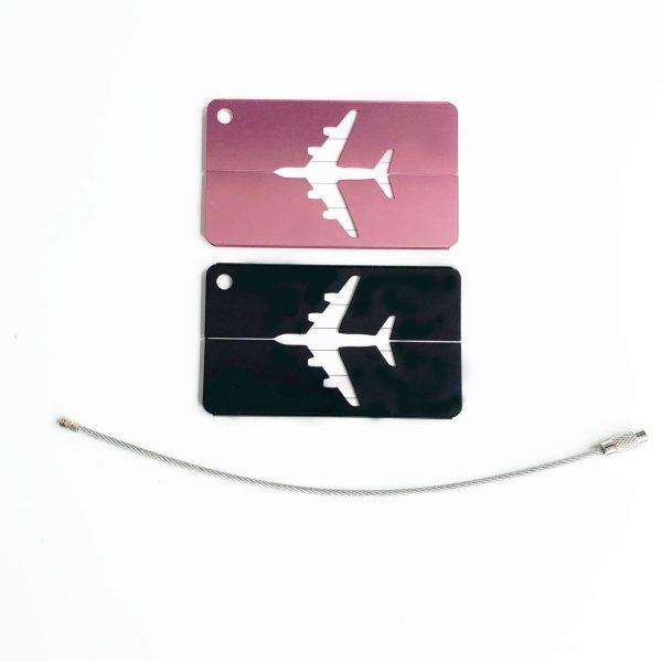 Kofferanhänger Metall 2 Farben