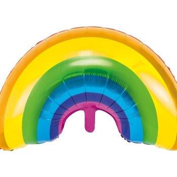 Folienballon Regenbogen