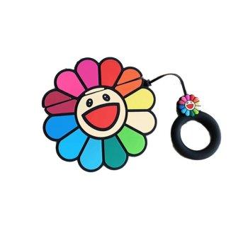 Airpodhülle Blume Regenbogen