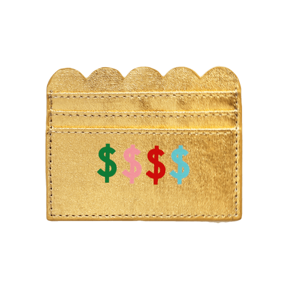 Cardholder Money Honey Gold. Die Macherei
