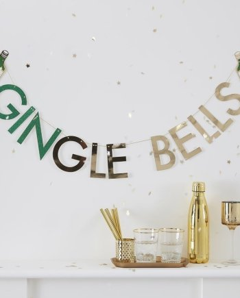 Girlande Gingle Bells. Die Macherei