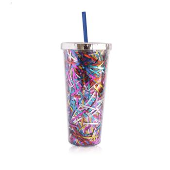 Trinkbecher Glitter Konfetti