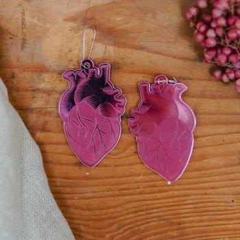 """Ohrringe """"Heartblood"""""""