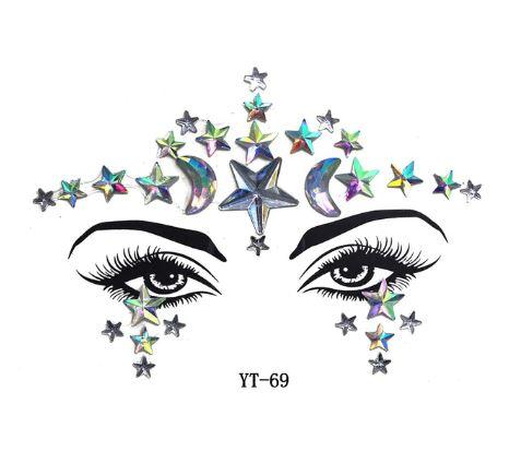 Augen Aufkleber Stargazer