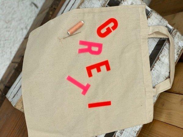 DIY Stofftasche personalisiert