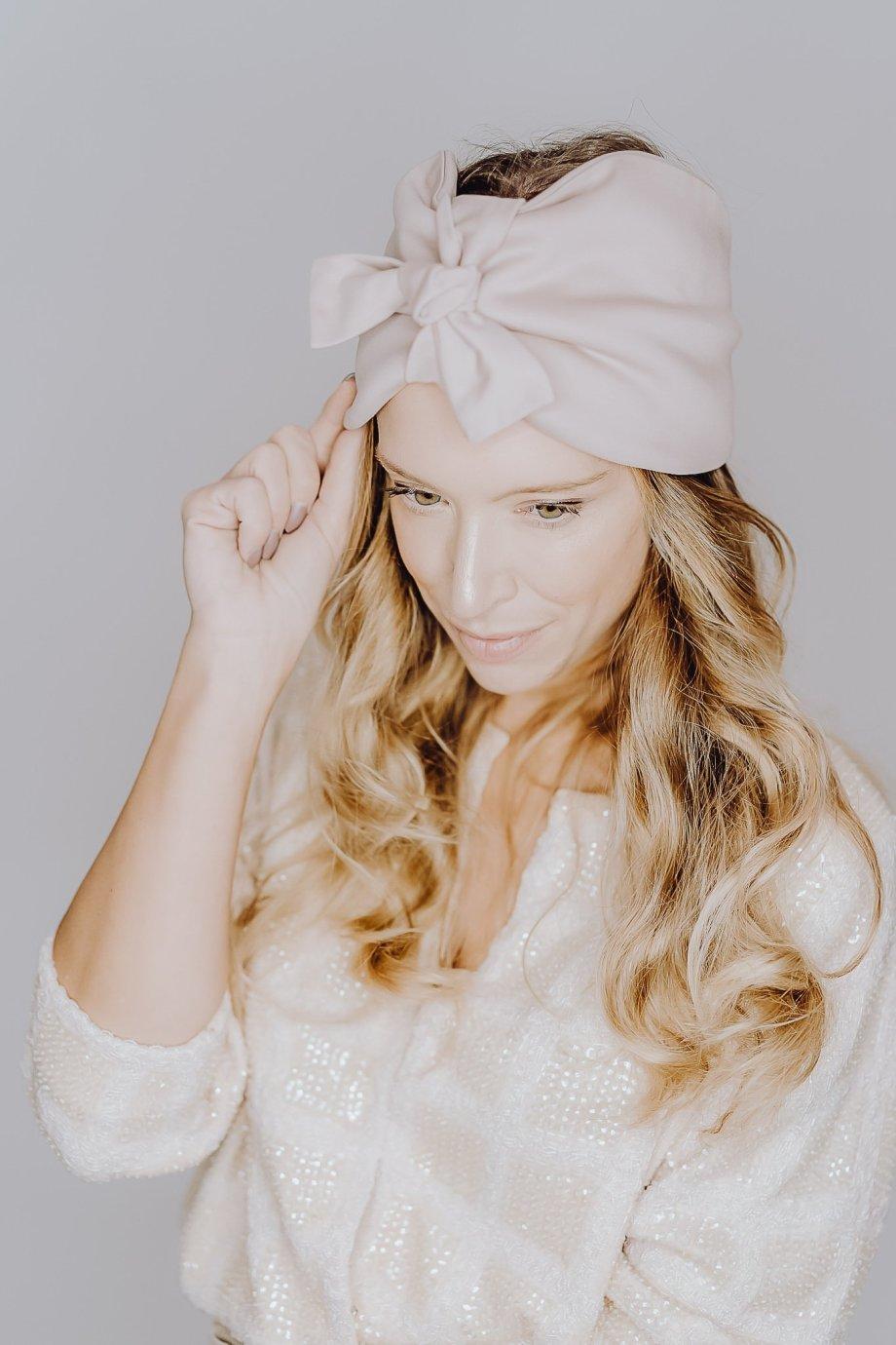 Die Macherei X Stirnbund Premium Knotbund blush