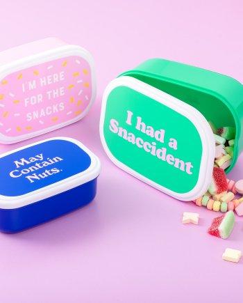 Snackbox 3er Set Snaccident