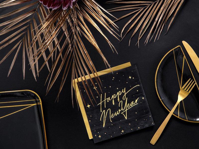Servietten Happy New Year