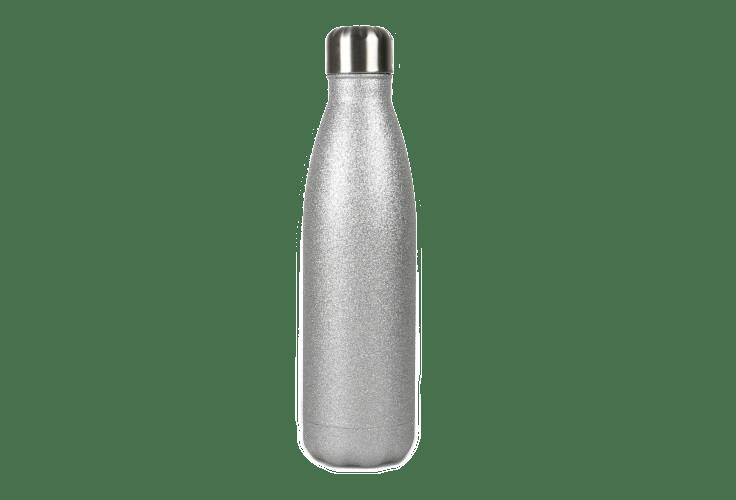 Glitzer Trinkflasche 4 Farben personalisierbar