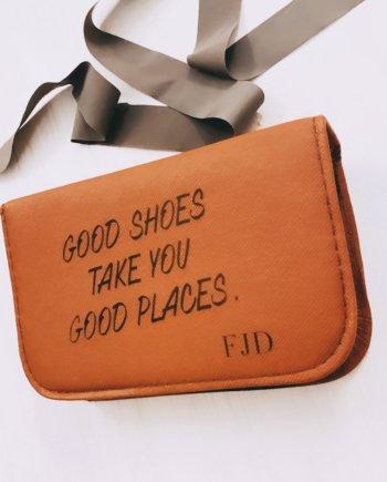 Schuhputzset personalisiert