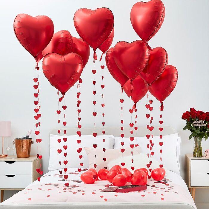 Ballon Deko Set Heart