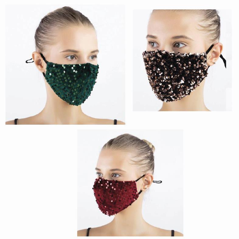 Macherei Sparkle Velvet Mask 3 Farben